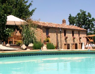 Photo for The Stables @ The Hideaway Farmhouse Holiday Apartments, Amandola, Le Marche
