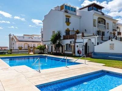Photo for Modern Town House On the Beach with Panoramic Views, Terraces, Pool, Wi-Fi & Air Conditioning; Parking Available