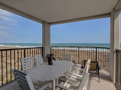 Photo for DR 2401–Oceanfront end unit condo on the top floor with panoramic ocean views