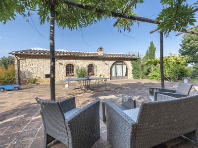 Photo for Fantastic apartment in the middle of the Chianti area, Capinera