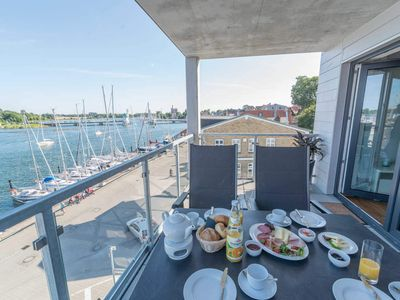 Photo for Apartment Ausguck No3 - Apartmenthaus Meerestochter directly at the Schlei