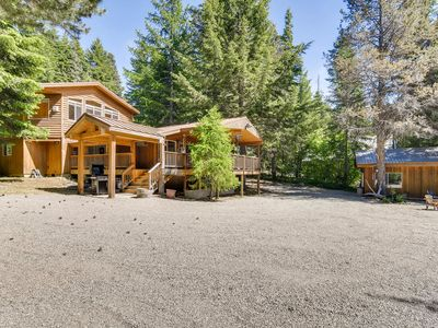 Photo for Save 25%-Secluded Cabin Nr Suncadia & Lake Cle Elum |Covered Patio-Hot Tub