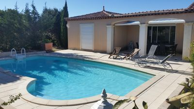 Photo for VILLA WITH POOL (10mn D'Avignon: 15mn Du Pont-du-Gard!)