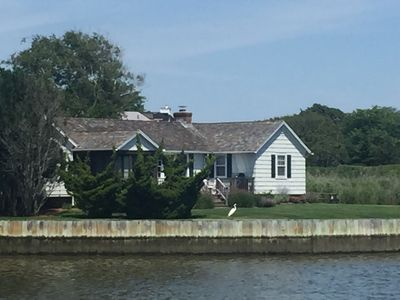 Photo for Quogue Cottage on the Water with Gorgeous Views
