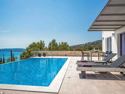 Photo for Lux villa with sea & Mountain views, Infinity pool