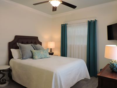 Photo for The Beach Retreat:  Private One Bedroom & One Bath A Block From The Beach!