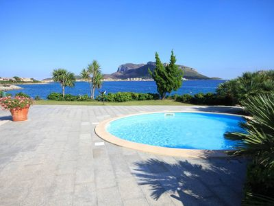 Photo for S'abba e sa pedra - Large Apartment for 7 with shared pool