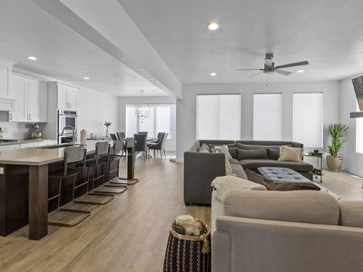 Photo for Clean / Sanitized Luxury Home with High End Furniture & Bedding