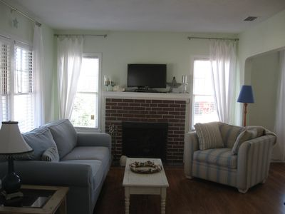 Photo for Fun and Affordable Beach Side Home Less than 2 Blocks to the Beach