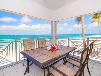 Photo for Regal Beach Unit 121:Perfect Caribbean Getaway to 7mile Beach Oceanfront Condo