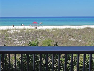 Photo for Exquisite 1st-Floor Beachfront. Step from Deck to Sand! Low Density Complex.