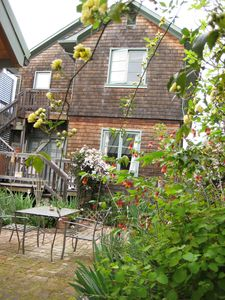 Victorian Home/ Back Garden Patio