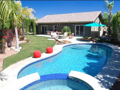 Photo for Sunsplashed, Fully Renovated Palm Springs Modern with Pool, Spa, Fire Pit