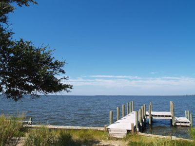 Photo for Soundfront with Gorgeous View and Private Pier!