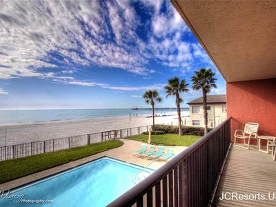 Photo for A Gulf Front 2 bedroom/2 bath in the popular Emerald Isle building
