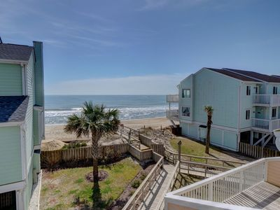 Photo for Ocean Dunes 1602 – Secluded oceanfront condo with oversized deck and views