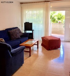Photo for Ground floor apartment on the Costa Dorada, 100 meters from the beach