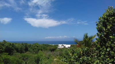 Photo for Villa-Coco: swimming pool, sea view, all comfort, on the heights of Marie-Galante.