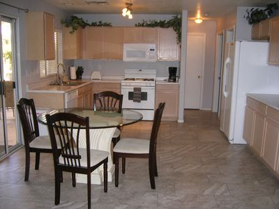 Fully stocked Kitchen with all small appliances.
