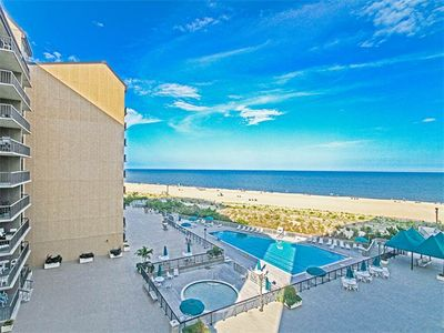 Photo for I512: Updated 3BR Sea Colony oceanfront condo! Private beach, pools, tennis ...