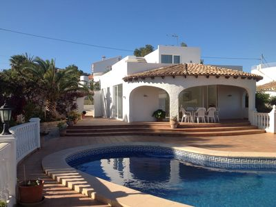 Photo for Incredible location next to the coast, with sea views and tranquility