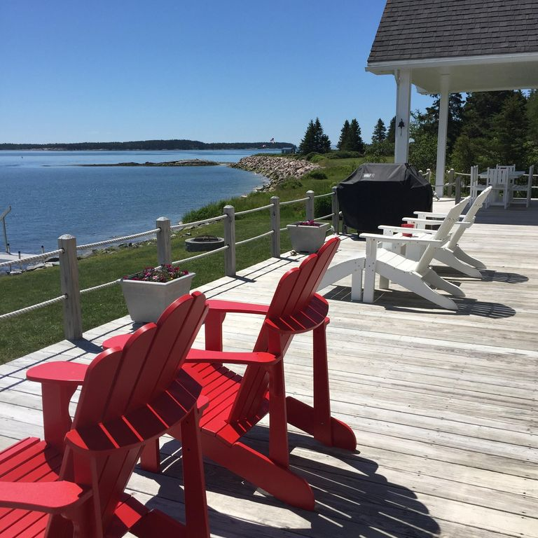 Pet Friendly Cape Cod Vacation Rentals: Jonesport Oceanfront Cape Cod Cottage With ...