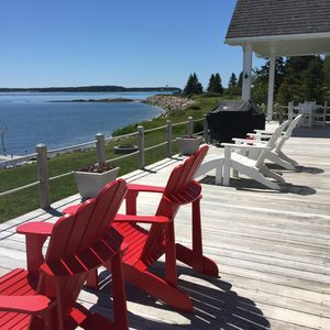 Photo for Jonesport Oceanfront Cape Cod Cottage with Beach and Spectacular Views