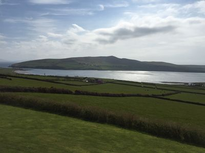 View of Dingle Harbour from Greenmount Lodge