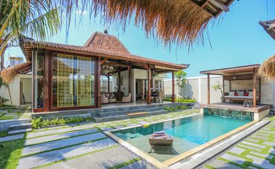 Photo for Brand New 3 Bedroom Family Villa in Canggu, Rice Field View'