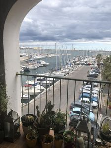Photo for Apartment view marina and sea