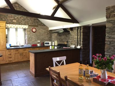 Photo for Llwyn Llwyd Cottage Aberyscir  Brecon Fantastic Rural Views Large Garden. Wifi.