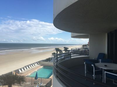 Photo for 2BR 2BA Direct Oceanfront Daytona Beach Shores - Sand Dollar Condo