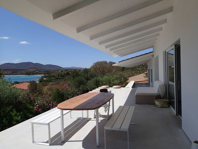 Photo for Villa Sea View 100mt from the beach with private panoramic pool!