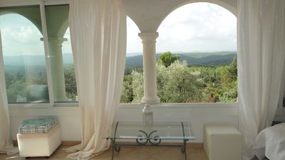 Photo for LORGUES Charming Provencal villa with panoramic views