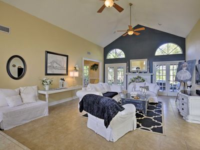 Photo for Pet Friendly Palm Coast Home - 7 Miles to Beach!