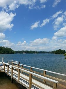 Photo for Quiet Cove inside State Park w/private dock! Fish, swim, hike, bike, boat, float