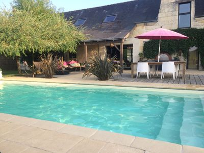 Photo for Beautiful property in the heart of the vineyards and castles of the Loire