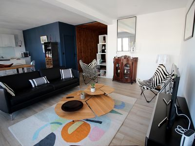 Photo for Biarritz │Comfortable, bright apartment for 4pax · Parking