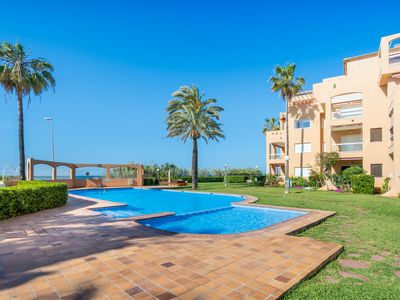 Photo for Estanyó Apartment, with shared pool, near the sea