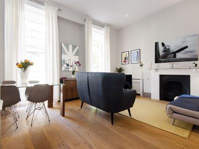 Photo for Modern and stylish 1BEDROOM IN A quiet Area of the very centre  OF LONDON.
