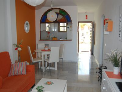 Photo for Beautiful one bedroom apartment in El Faro, Mijas Costa, WIFI, sea views