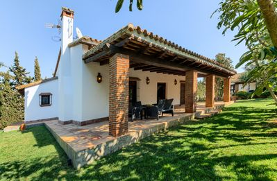 Photo for Beautiful Cortijo El Olivo House, next to the pool - 3 Bedrooms