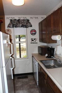 Kitchen with everything you need to cook up a great meal.