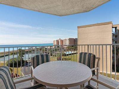 Photo for Gulf and beachfront condo w/marvelous views, shared pool and hot tub