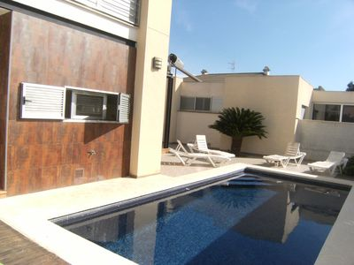 Photo for BEAUTIFUL VILLA WITH POOL 6 PEOPLE AT 300 M. BEACH IN VINAROS