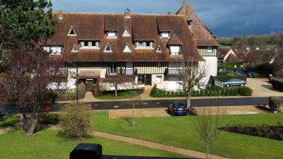 Photo for 1BR Apartment Vacation Rental in Villers-sur-Mer, Basse-Normandie