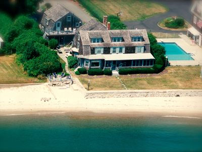 Photo for 6 Bedroom Direct Waterfront Home With Private Beach Sleeps 11-12 People!