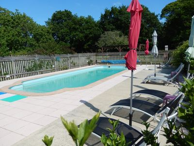 Photo for The shorthouse - in the countryside - heated pool - space for children
