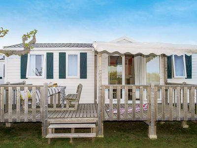 Photo for Camping Loyada ***** - Cozy Air-conditioned 4-room mobile home 6 people