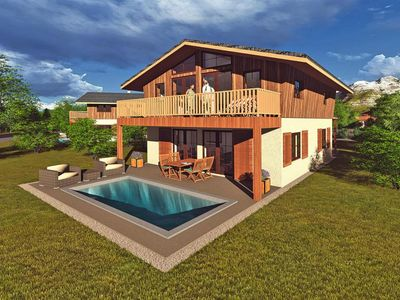 Photo for Chalet Falkenstein, Inzell  in Chiemgau - 6 persons, 3 bedrooms